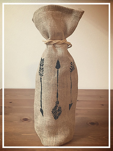 Yakima Wine Bag - Rustic Arrows