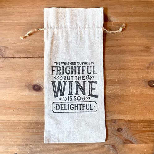 Walla Walla Wine Bag - Frightful/Delightful