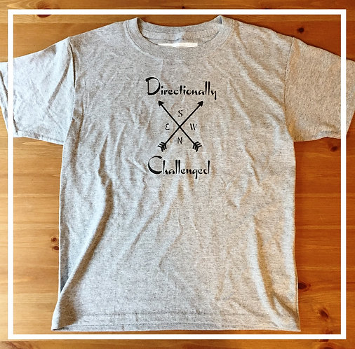 Directionally Challenged Tee - Youth