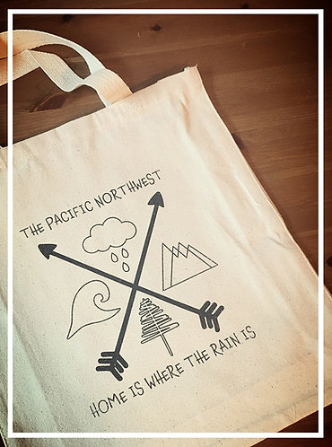 Seaside Shopping Bag - Home Is Where