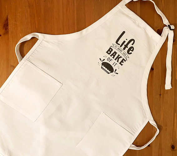 Belmont Foodie Apron - Bake Of It