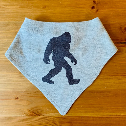 Bigfoot Handkerchief Bib
