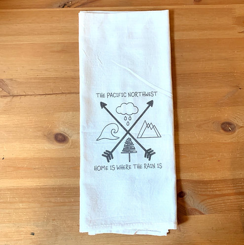 Kennewick Kitchen Towel - Home Is Where