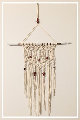 Olympic Moss Macrame Wall Hanging