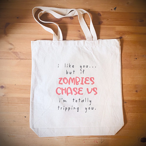 Long Beach Shopping Bag - Zombies