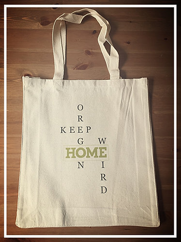 Seaside Shopping Bag - Keep Oregon Weird