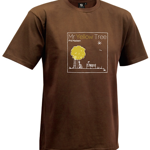 Mr Yellow Tree T-Shirt - Womens