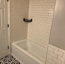 Major tile/bathroom job