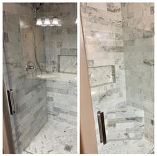 shower build out