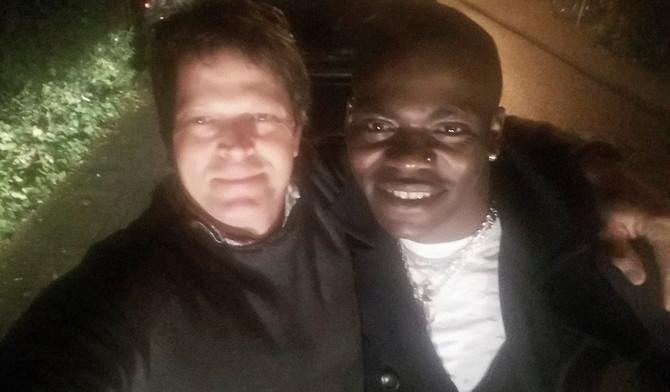 Franck und ich.