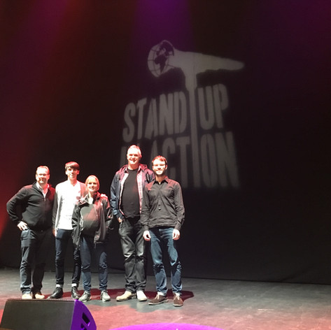 Stand Up in Action comedy benefit