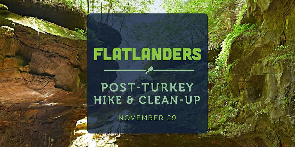 Post-Turkey Hike & Clean Up