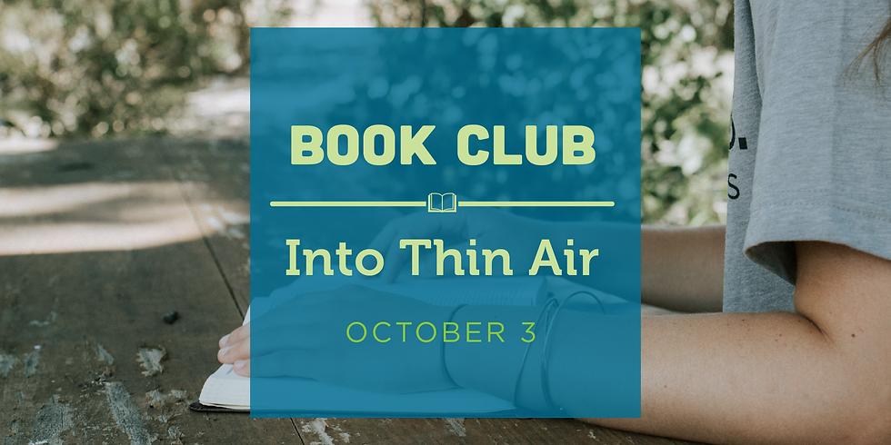 Book Club- Into Thin Air