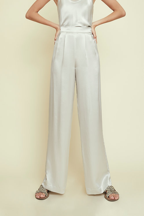 CHRISTY - Egg Shell Trousers