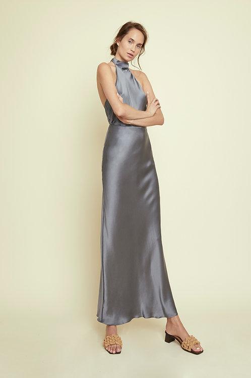 DAISY - Slate Maxi Skirt