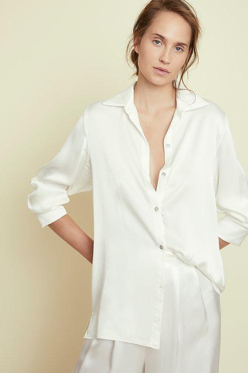 AMBER - White Classic Shirt
