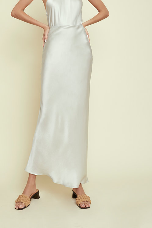 DAISY - Egg Shell Maxi Skirt