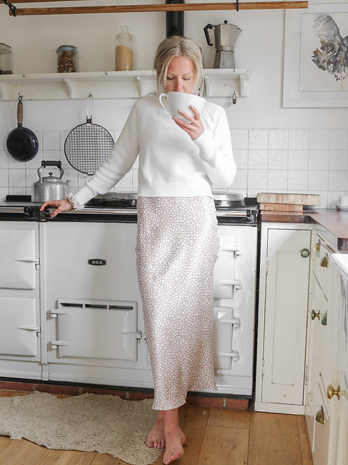 TABITHA - Stingray Midaxi Skirt