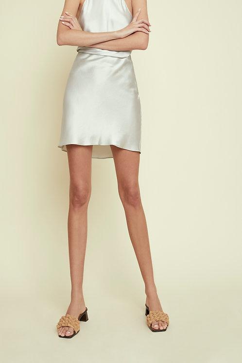 ELLIE - Egg Shell Mini Skirt