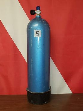 Metallic Blue AL 80 Tank