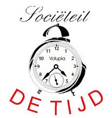 Logo sociëteit 'De Tijd'