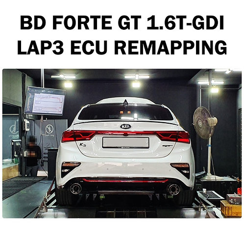 LAP3 ECU Tune for BD Forte GT 1.6T-GDI