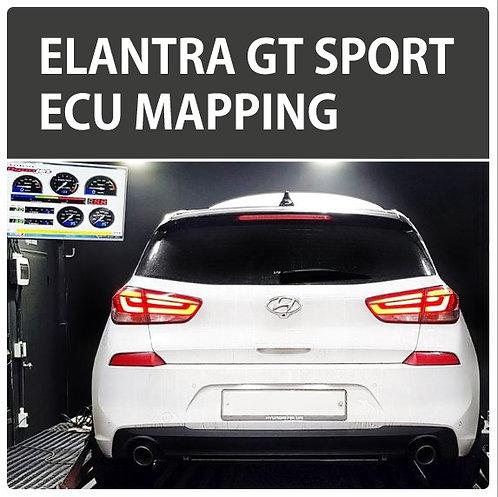 Elantra GT Sport 1.6T-GDI ECU Tune
