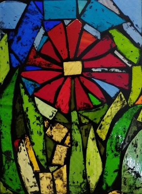 Stained Glass - Mosaic Picture