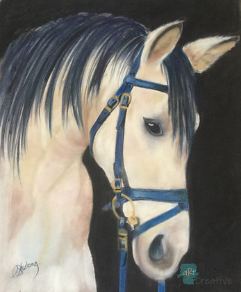 Dun Horse - Caroline Furlong (framed)