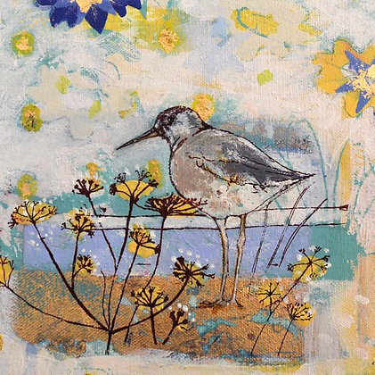 Square Art Card: Picture Perfect by Claire Cockayne