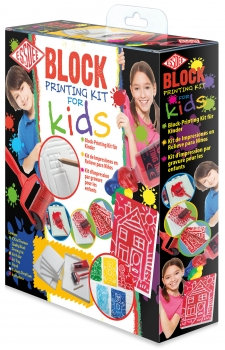 Block Printing Set for Kids