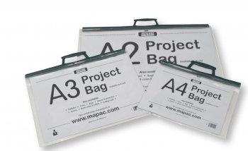 Clear Art Folder/Project Bag