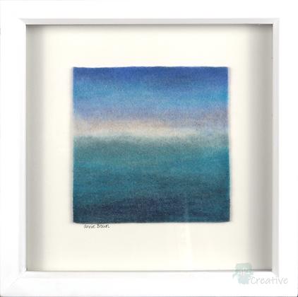 Seascape 2 - Annie Brown (framed)