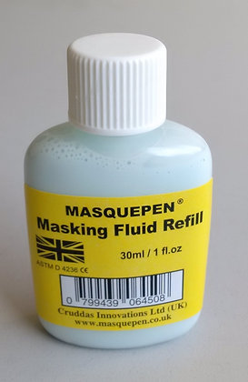 Masking Fluid Pen (Blue) Refill