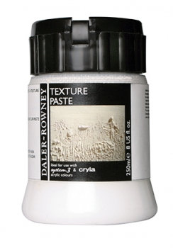 Medium: Texture Paste (Daler Rowney)