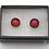Thumbnail: Dichroic Glass 'Dots' Stud Earrings  - Louise Ferrier