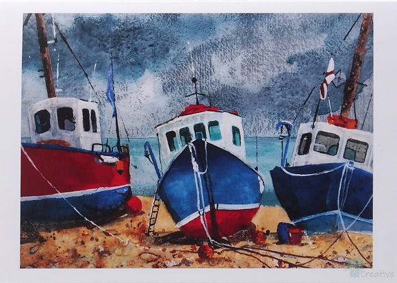 Art Card: Prints of Mixed Media Artwork by Caroline Furlong