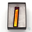 Thumbnail: Dichroic Glass Pendant Dark Red with Gold Strip - Louise Ferrier