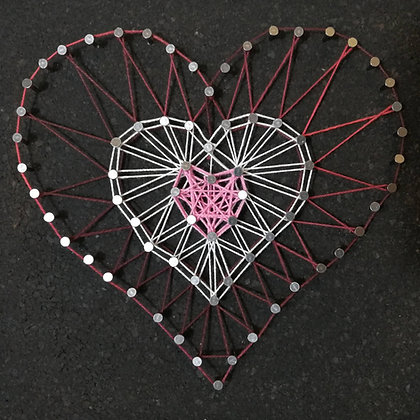 String Art - Heart - Takeaway Taster