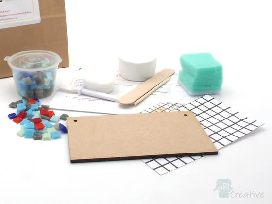 Mini Mosaics - Small Plaque - Takeaway Taster