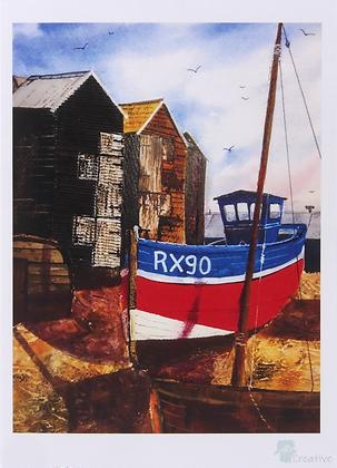Art Card: Prints of Mixed Media Artwork by Caroline Furlong