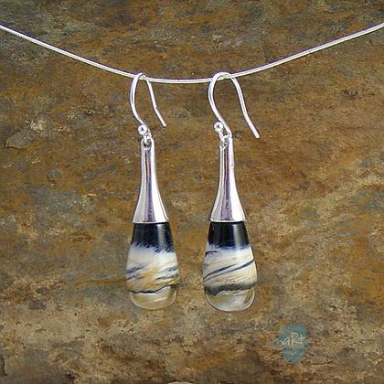 Glass Drop Earrings  - Avalon Jewellery