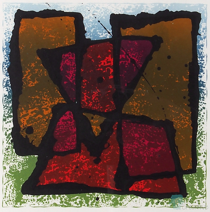 Naive Geometric Two -  Ni Gooding (Framed)