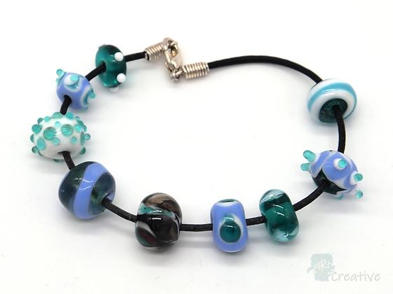 Bracelet: Flame Work Bracelet - Toni Peers