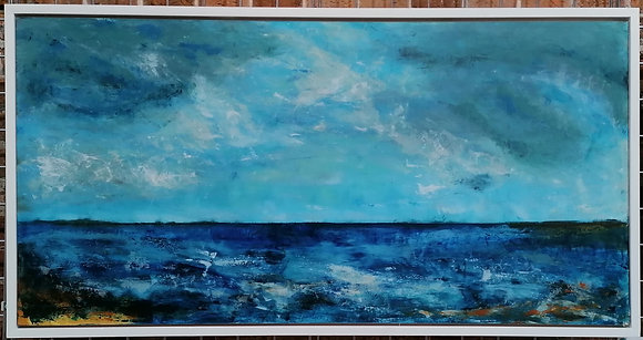 Tides Are Neap- Maggie Davis (framed)
