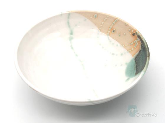 Medium Shallow Bowl 'Shoreline ' - Sue Bowerman