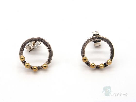 Circular Ring Studs - Lorraine Allan