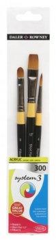 Brush: Acrylic Brush Sets (System 3: Daler Rowney)