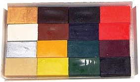 Encaustic Art: Individual Wax Blocks (Mixers, Neons and Pastels)