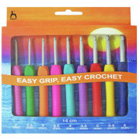 Easy Grip Crochet Hook Set - Pony